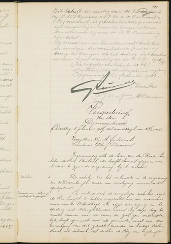 Teteringen - Notulen en bijlagen van de gemeenteraad 1927