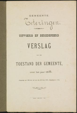 Teteringen - Verslagen van de toestand van de gemeente 1888