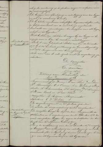 Ginneken en Bavel - Notulen van de gemeenteraad 1873-01-01