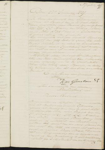 Teteringen - Notulen en bijlagen van de gemeenteraad 1829