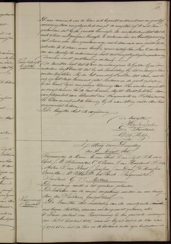 Ginneken en Bavel - Notulen van de gemeenteraad 1885-01-01