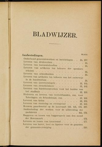 Breda - Indexen op de notulen van de gemeenteraad 1902-01-01