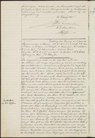 Ginneken en Bavel - Notulen van de gemeenteraad 1904-01-01