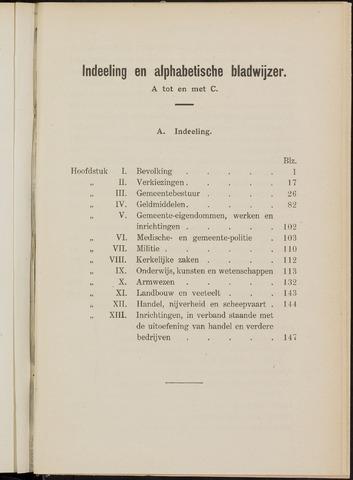 Breda - Verslagen van de toestand van de gemeente 1913