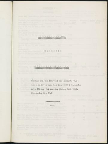 Ginneken en Bavel - Verslagen van de toestand van de gemeente 1902-01-01