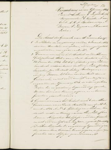 Princenhage - Notulen van de gemeenteraad 1834-01-01
