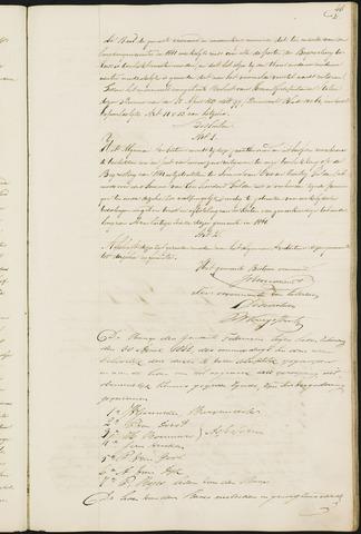 Teteringen - Notulen en bijlagen van de gemeenteraad 1842-01-01