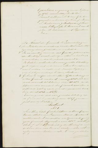 Princenhage - Notulen van de gemeenteraad 1858