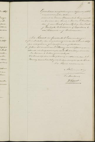 Princenhage - Notulen van de gemeenteraad 1868