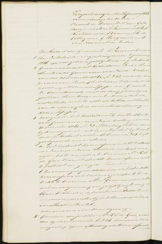 Princenhage - Notulen van de gemeenteraad 1846