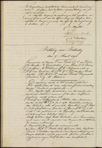 Ginneken en Bavel - Notulen van de gemeenteraad 1895-01-01
