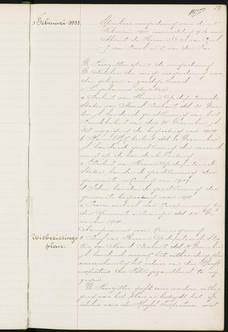 Princenhage - Notulen van de gemeenteraad 1911