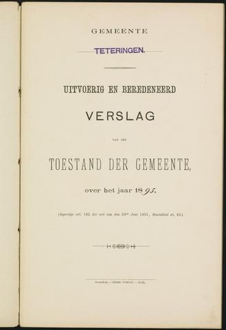 Teteringen - Verslagen van de toestand van de gemeente 1895
