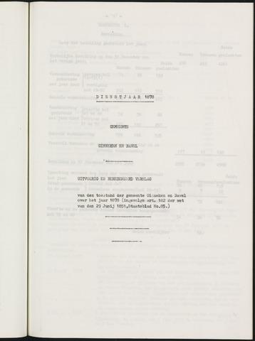 Ginneken en Bavel - Verslagen van de toestand van de gemeente 1878