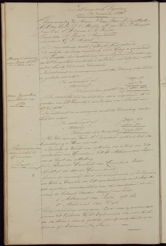 Ginneken en Bavel - Notulen van de gemeenteraad 1880-01-01