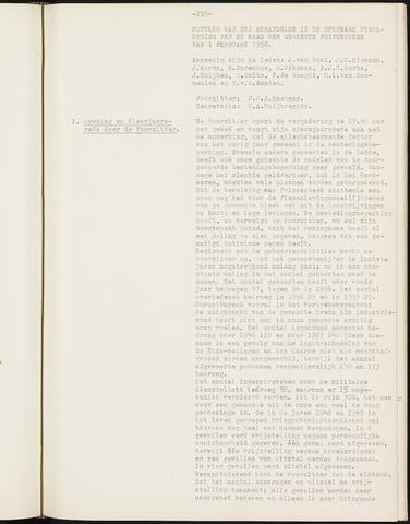 Prinsenbeek - Notulen van de gemeenteraad 1958-01-01