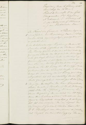 Princenhage - Notulen van de gemeenteraad 1845