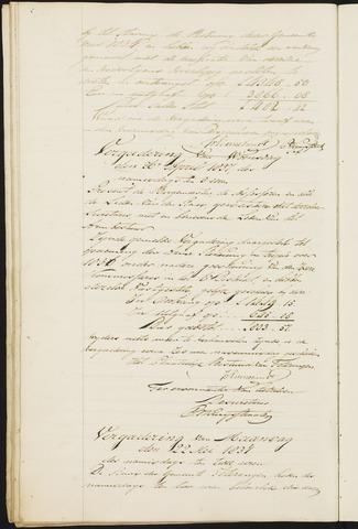 Teteringen - Notulen en bijlagen van de gemeenteraad 1837