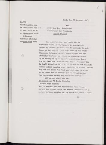 Breda - Verslagen van de toestand van de gemeente 1846-01-01