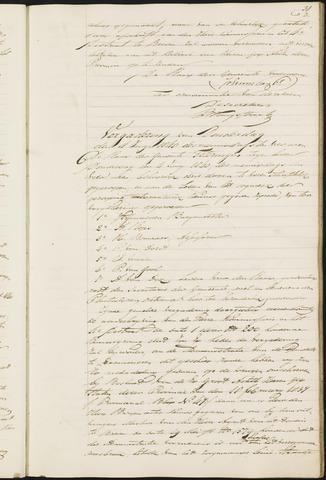 Teteringen - Notulen en bijlagen van de gemeenteraad 1840