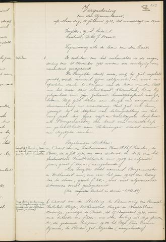 Teteringen - Notulen en bijlagen van de gemeenteraad 1932