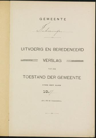 Teteringen - Verslagen van de toestand van de gemeente 1917