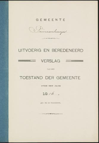 Princenhage - Verslagen van de toestand van de gemeente 1916-01-01