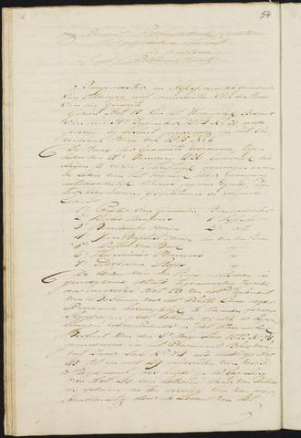 Teteringen - Notulen en bijlagen van de gemeenteraad 1826