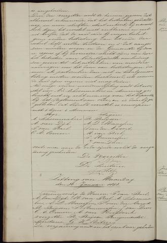 Ginneken en Bavel - Notulen van de gemeenteraad 1868-01-01