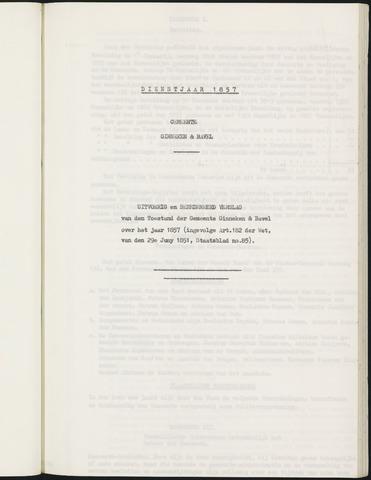 Ginneken en Bavel - Verslagen van de toestand van de gemeente 1857