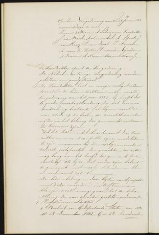 Princenhage - Notulen van de gemeenteraad 1883-01-01