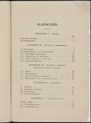 Breda - Verslagen van de toestand van de gemeente 1865