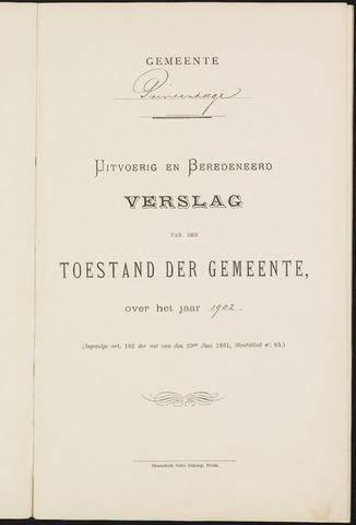 Princenhage - Verslagen van de toestand van de gemeente 1902-01-01