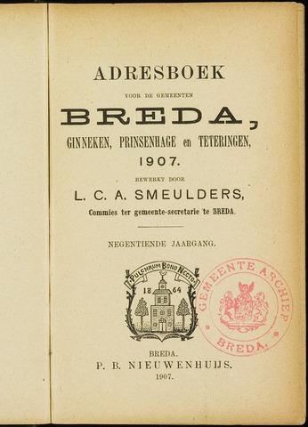 Adresboeken 1907-01-01