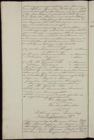Ginneken en Bavel - Notulen van de gemeenteraad 1870-01-01