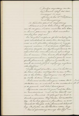 Princenhage - Notulen van de gemeenteraad 1927