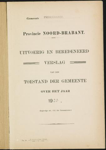Princenhage - Verslagen van de toestand van de gemeente 1923