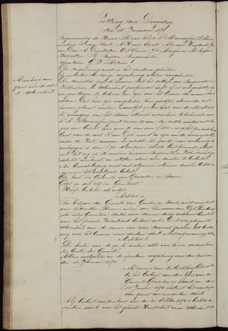 Ginneken en Bavel - Notulen van de gemeenteraad 1874-01-01