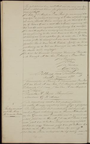 Ginneken en Bavel - Notulen van de gemeenteraad 1878-01-01
