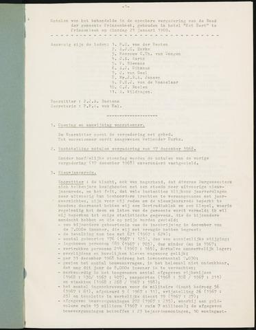 Prinsenbeek - Notulen van de gemeenteraad 1969