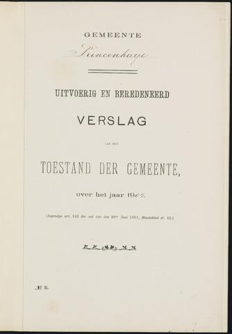 Princenhage - Verslagen van de toestand van de gemeente 1904