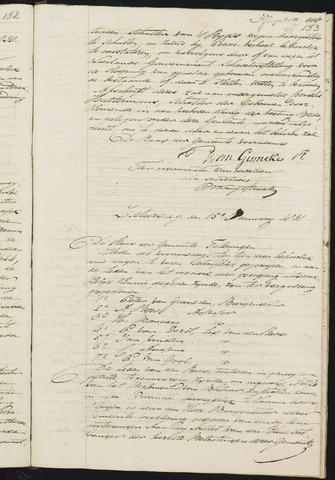 Teteringen - Notulen en bijlagen van de gemeenteraad 1831
