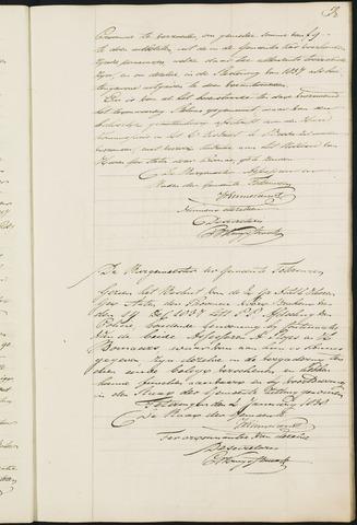 Teteringen - Notulen en bijlagen van de gemeenteraad 1838