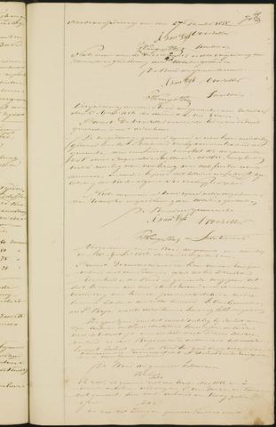 Teteringen - Notulen en bijlagen van de gemeenteraad 1856