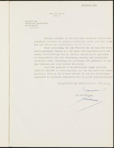 Prinsenbeek - Bijlagen bij de notulen van de gemeenteraad 1949-01-01