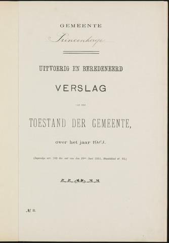 Princenhage - Verslagen van de toestand van de gemeente 1903