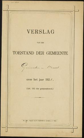 Ginneken en Bavel - Verslagen van de toestand van de gemeente 1923