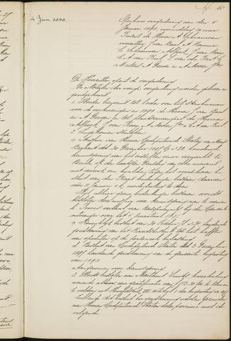 Princenhage - Notulen van de gemeenteraad 1898