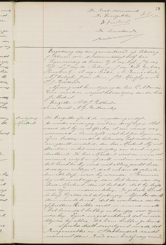Ginneken en Bavel - Notulen van de gemeenteraad 1914-01-01