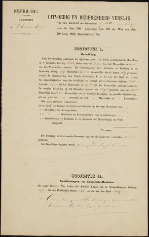 Princenhage - Verslagen van de toestand van de gemeente 1863-01-01